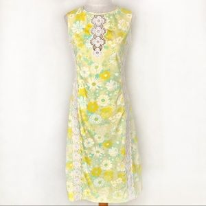 Vintage 60's Lilly Pulitzer Floral Shift Dress